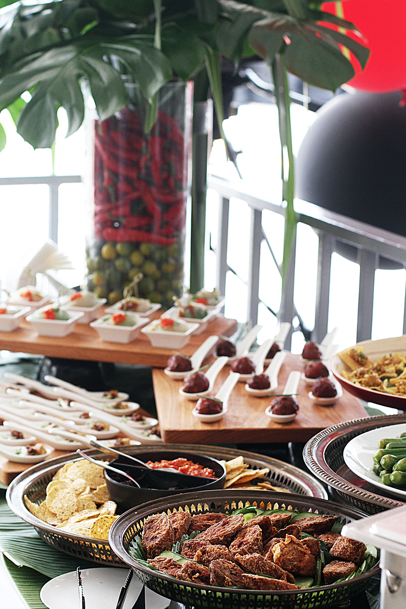 Peranakan corporate catering
