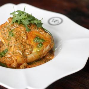Violet Oon Singapore - Cod with Creamy Lasak Sauce