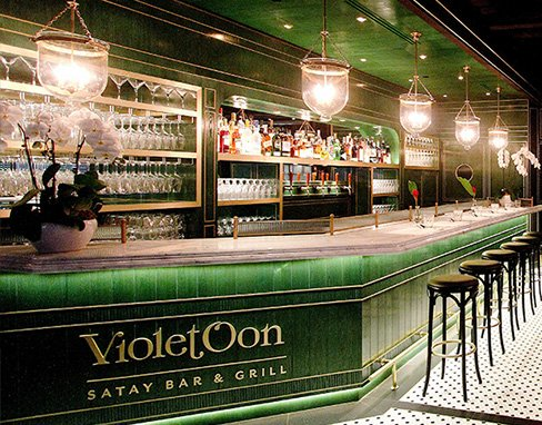 Violet Oon Satay Bar and Grill Clark Quay